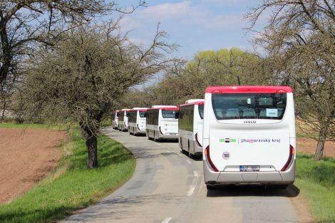 Nové autobusy BDS-BUS. Foto: IDS JMK