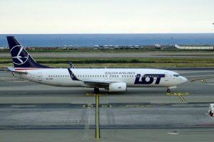 Boeing 737-800 společnost LOT. Foto: Eric Salard / Flickr.com