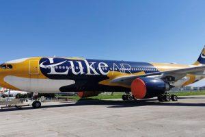 Airbus A330-200 v barvách Luke Air. Foto: Čedok