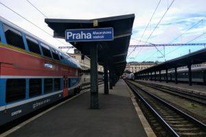 Stanice Praha - Masarykovo nádraží. Foto: Jan Sůra / Zdopravy.cz
