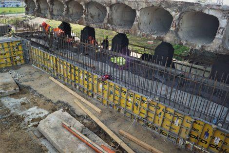 Rekonstrukce mostu na D1 u Velké Bíteše. Pramen: ŘSD