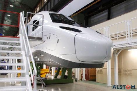 Hnací vůz nové vysokorychlostní soupravy TGV. Foto: Alstom
