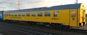 Měřící vůz MVŽSv 2 pro Správu železnic. Foto: VÚŽ