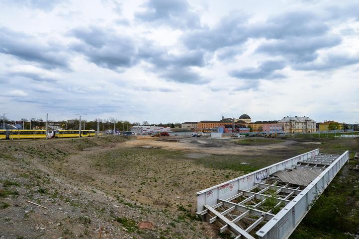 Prostor pro nové parkoviště v Plzni - Borech. Foto: Plzen.eu