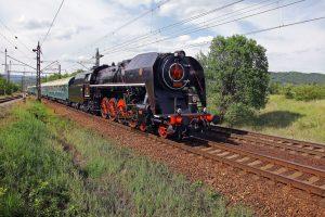 Parní lokomotiva 475.179. Pramen: České dráhy