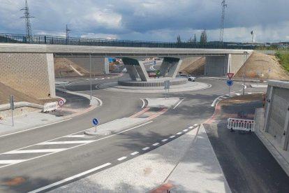 Nový úsek východního městského okruhu v Plzni. Foto: Eurovia