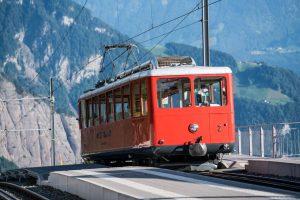 Ozubnicová trať Vitznau - Rigi. Foto: Rigi Bahnen
