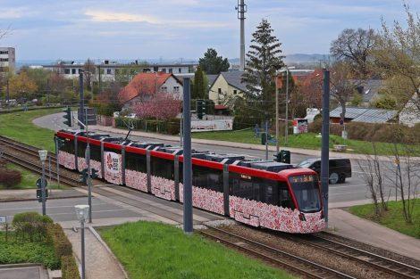 Nové tramvaje Stadler Tramlink pro Erfurt. Foto: Jacob Schröter
