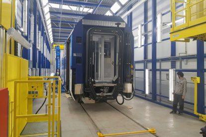 Nové vozy pro České dráhy od sdružení Siemens - Škoda ve Škodě Vagonce. Foto: Jan Sůra / Zdopravy.cz