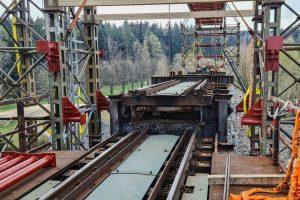 Rekonstrukce Vilémovského viaduktu. Foto: Správa železnic