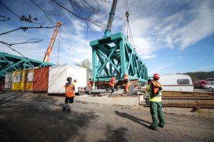 Rekonstrukce Vilémovského viaduktu. Foto: Chládek a Tintěra Pardubice