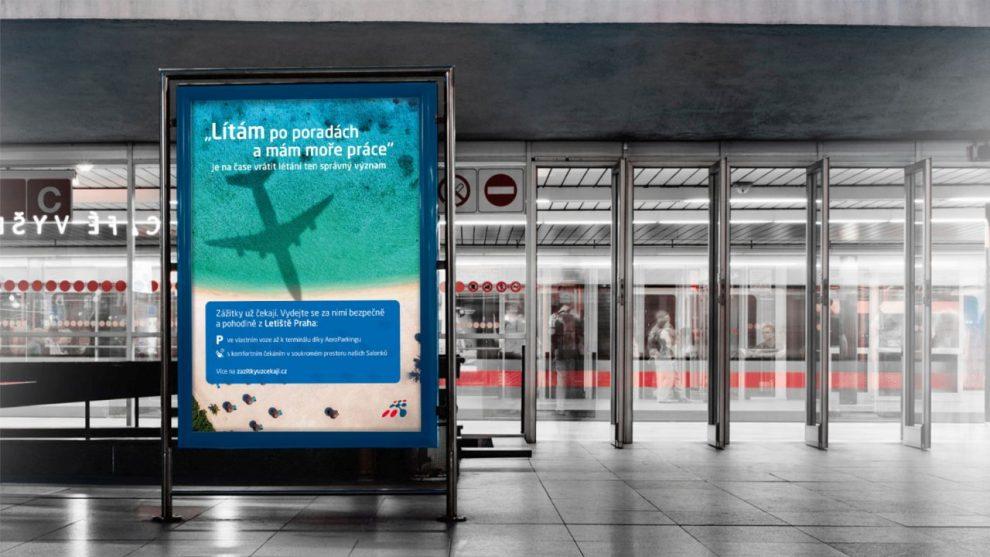 Nová podoba marketingové kampaně Letiště Praha: Foto: Letiště Praha