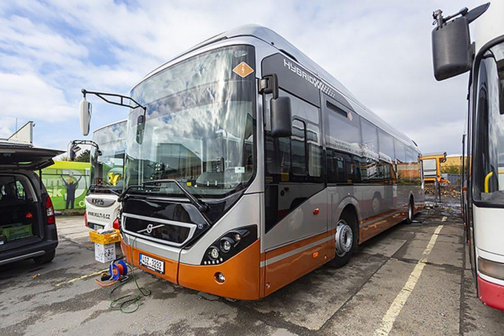 Autobus Volvo 7900 pro Kroměříž. Foto: KTS