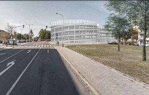 Návrh parkovacího domu ve Znojmě. Foto: Architektonická kancelář IXA