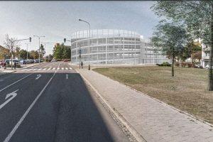 Návrh parkovacího domu ve Znojmě. Foto: Architektonická kancelář GAsAG