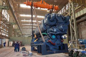 Oprava lokomotivy 781.592. Foto: Radek Šauer