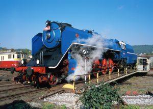 Parní lokomotiva Albatros 498.022. Pramen: ČD