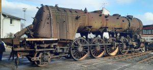 Parní lokomotiva Albatros 498.112. Pramen: ČD