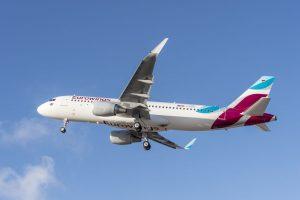 Airbus A320 společnosti Eurowings. Foto: Eurowings