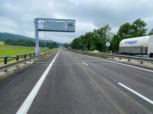 Silnice I/35 mezi Libercem a Chrastavou. Foto: ŘSD