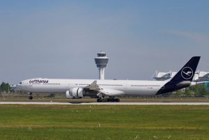 Airbus A340-600 společnosti Lufthansa. Pramen: Lufthansa