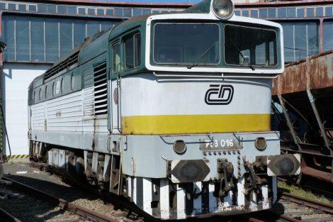 Lokomotiva T478.3016 (Brejlovec) z roku 1971. Pramen: NTM