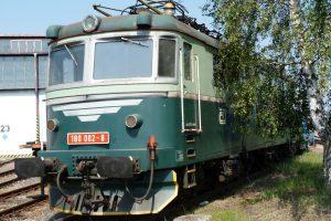 Prototyp elektrické lokomotivy E669.0002 z roku 1958. Pramen: NTM