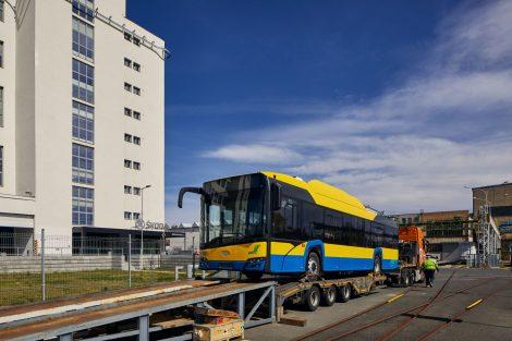 Trolejbusy s výzbrojí Škoda pro rumunské město Ploješť. Pramen: Škoda Electric