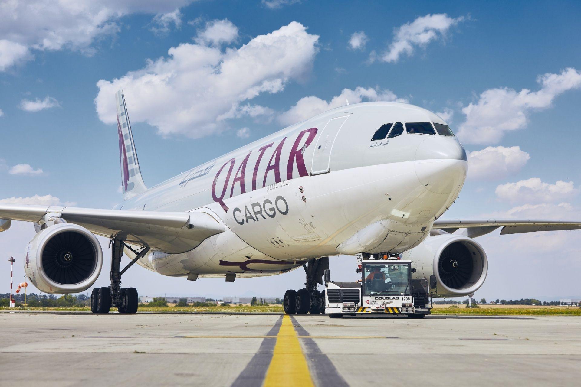 Nákladní letadlo Qatar Cargo. Pramen: Letiště Praha