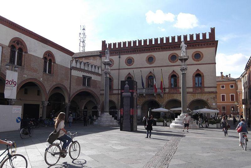 Ravenna. Pramen: commons.wikimedia.org, karel291