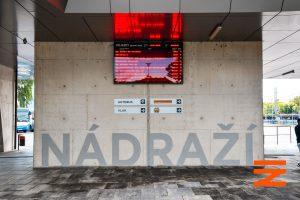 Nový autobusový terminál ve Strakonicích. Pramen: Správa železnic