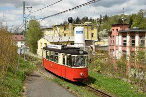 Tramvaj Gotha na trati z Liberce do Jablonce. Foto: Boveraclub