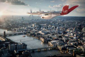 Letadlo Vertical VA-X4 v barvách Virgin Atlantic. Foto: Virgin Atlantic