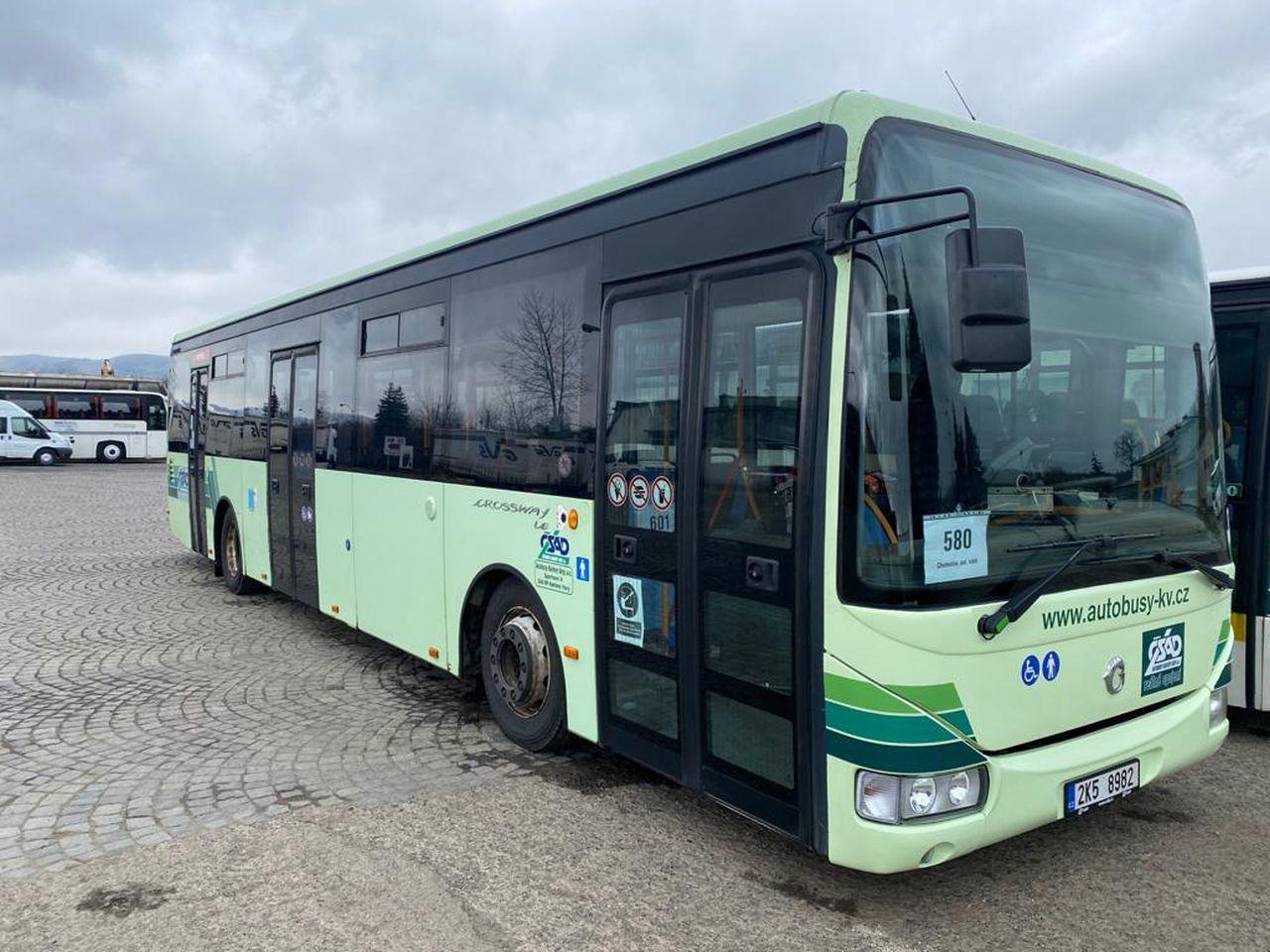Autobus Iveco Crossway společnosti Autobusy Karlovy Vary. Foto: AKV