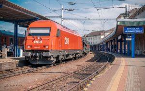První vlak Bratislava - Split. Foto: ZSSK