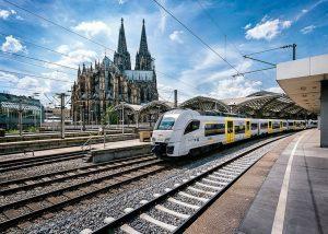 Siemens Desiro ML společnosti transregio Deutsche Regionalbahn. Foto: ŃVR.de
