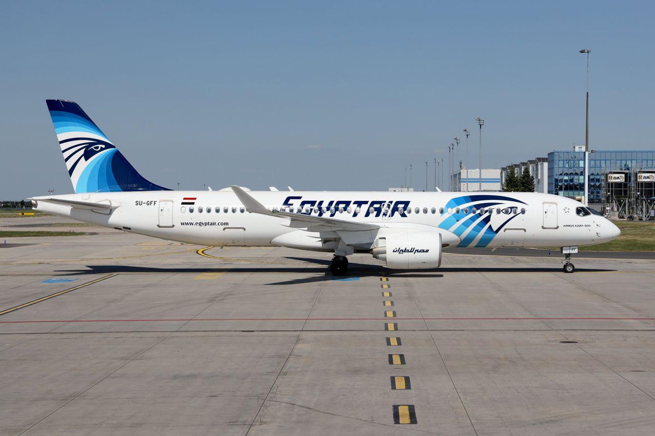 První let EgyptAir z Hurghady do Prahy. Foto: Letiště Praha