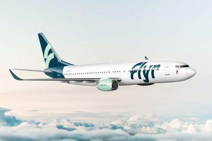 Boeing 737-800 v barvách Flyr. Foto: Flyr