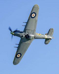 Stíhačka Hawker Hurricane Mk.IV. Foto: Letecké muzeum Točná