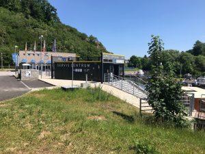 Nová čerpací stanice v přístavu Hluboká nad Vltavou. Pramen: ŘVC ČR