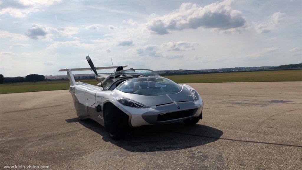 Auto/letadlo vynálezce Štefana Kleina. Pramen: Klein Vision