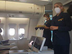 Byznys třída v A330-200 společnosti Luke Air. Foto: Jan Sůra / Zdopravy.cz