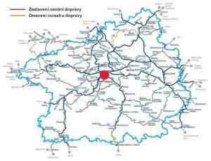 Mapa tratí Středočeského kraje k redukci. Foto: Středočeský kraj