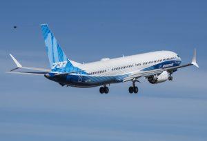 První let Boeingu 737 MAX 10. Foto: Boeing