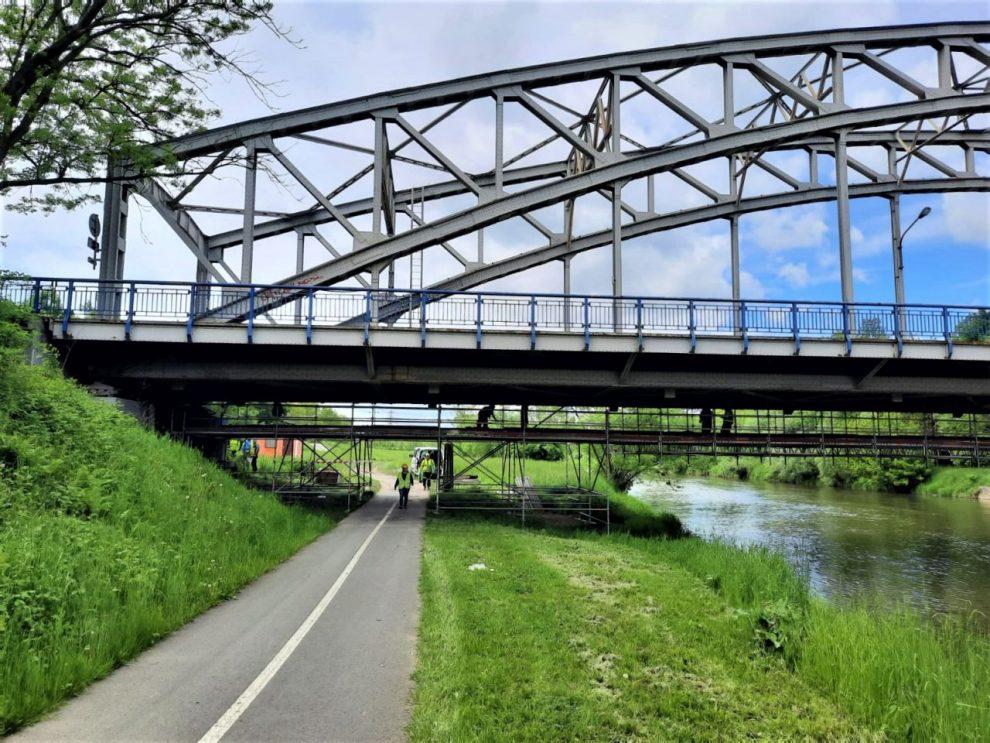 Oprava mostu v Ostravě-Přívoze na silnici I/56. Foto: ŘSD