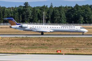 Canadair Regional Jet CRJ-900LR. Foto: Oliver Holzbauer