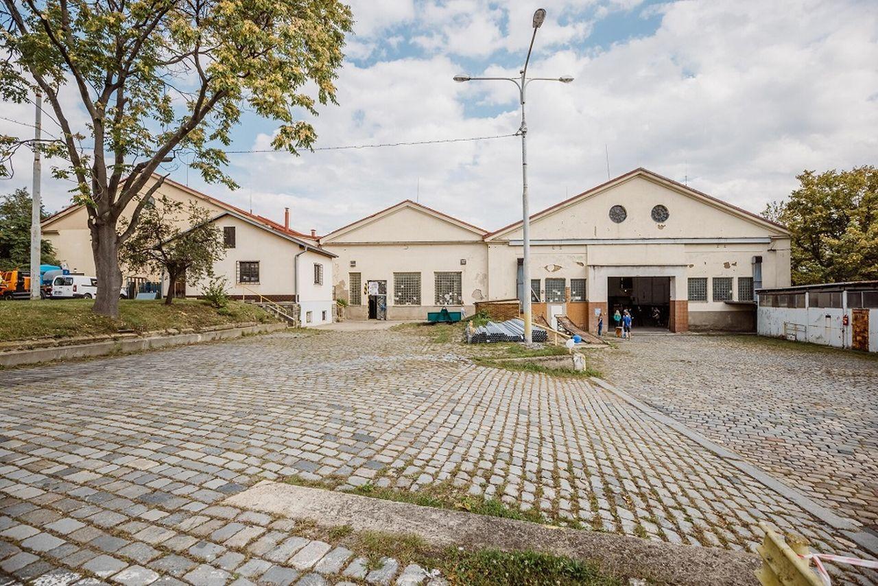 Bývalá vozovna Orionka. Pramen: IPR Praha