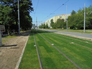 Ostrava, nová podoba tratě ve Výškovické ulici. Pramen: DPO