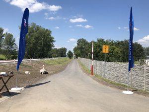 Nová cyklostezka po hrázi Nových Mlýnů. Foto: Jihomoravský kraj