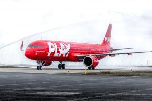 Airbus A321neo pro aerolinky Play. Foto: Play